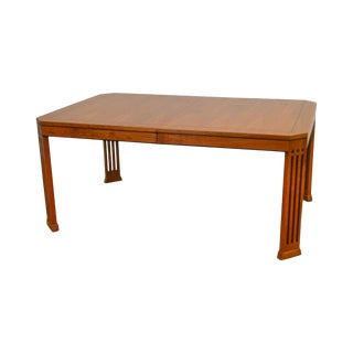 Stickley 21st Century Cherry Inlaid Dining Table For Sale