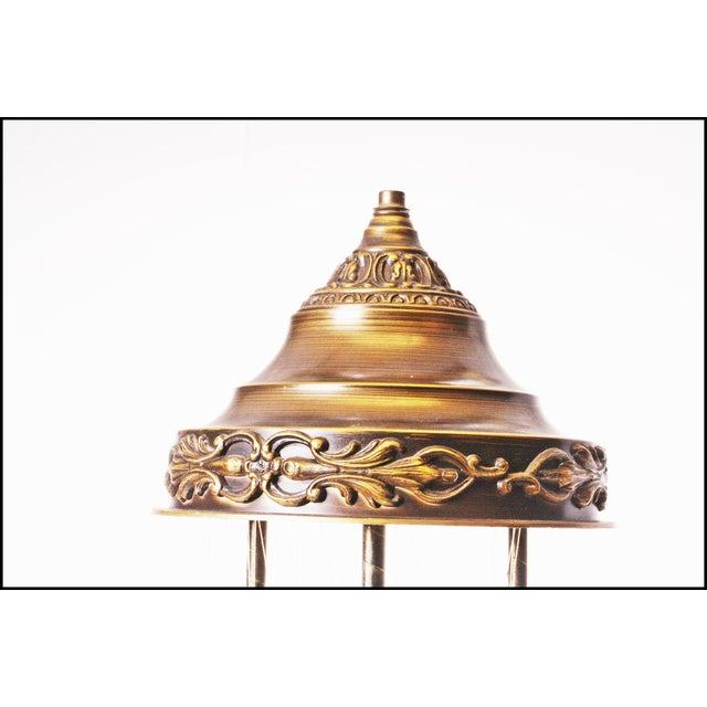 Mid Century Hollywood Regency Mineral Oil Rain Lamp - Image 10 of 11