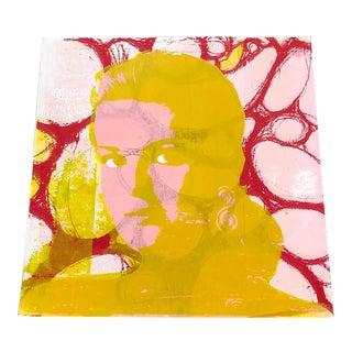 Vintage Warhol Style Pop Art Original Silkscreen Unsigned For Sale
