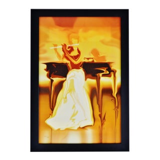 Vintage Framed Steve Bloom Signed Limited Edition W/ Coa Mixed Media Giclee on Canvas For Sale
