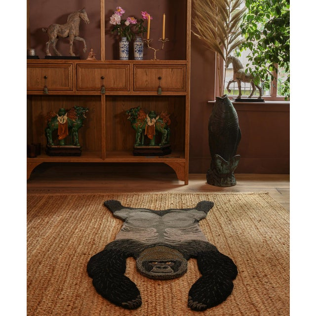 Not Yet Made - Made To Order Doing Goods Groovy Gorilla Rug Large For Sale - Image 5 of 6