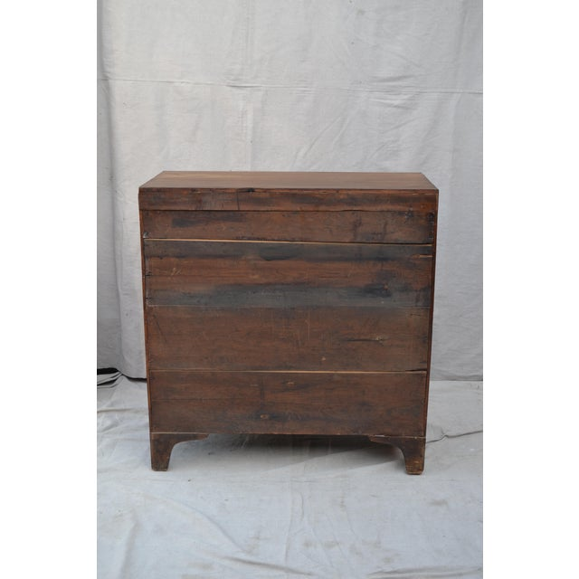 English Regency Chest of Drawers For Sale - Image 9 of 10