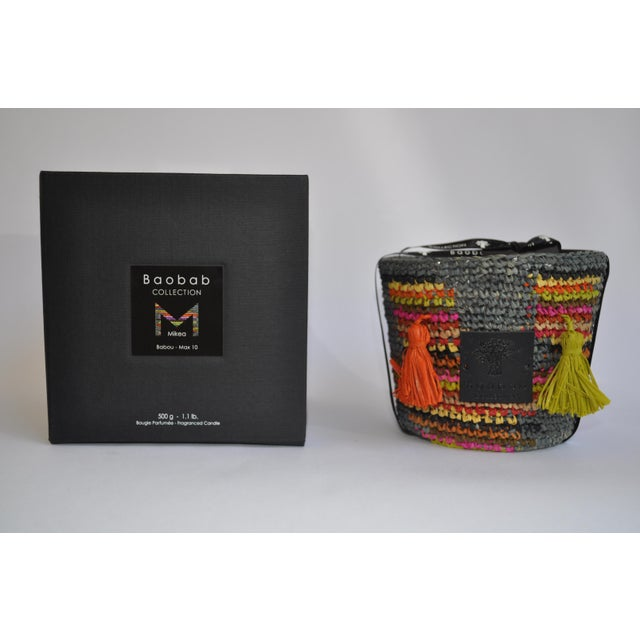 "The Babou candle, with its two pompoms, spelled ""Baboho"" in Malagasy, is an ode to the root that has allowed the Mikea..."
