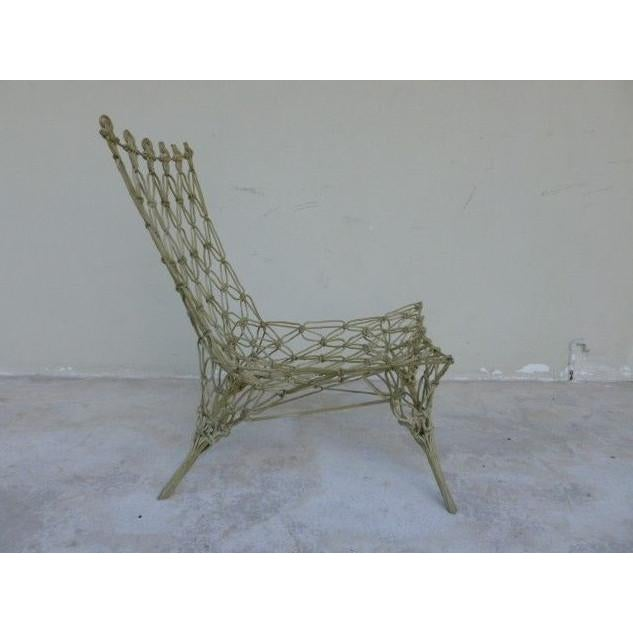 Droog 1990s Vintage Marcel Wanders for Droog Design Knotted Chair For Sale - Image 4 of 13