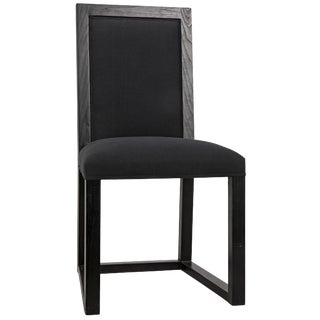 Manos Chair, Charcoal Black For Sale