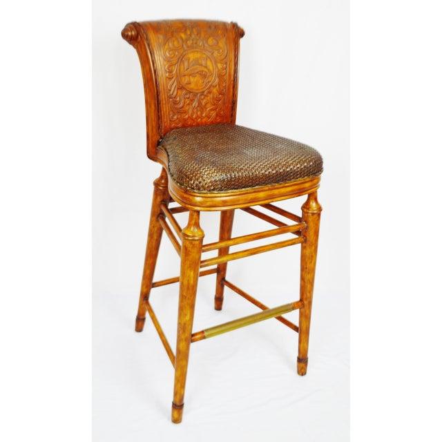 Vintage Thomasville Ernest Hemingway Desk & Chair Set For Sale - Image 9 of 10