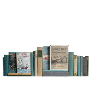 Midcentury Nautical Lovers Book Set, S/20 For Sale