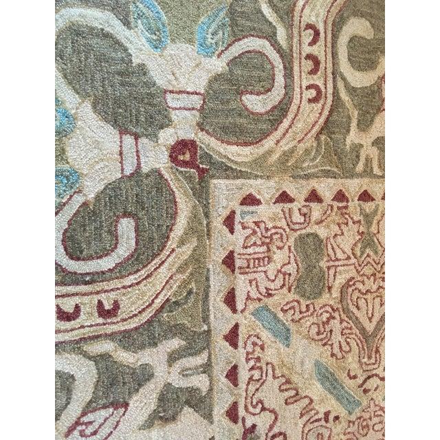 Custom Wool Tufted Rug -- 15′ × 16′ - Image 5 of 5