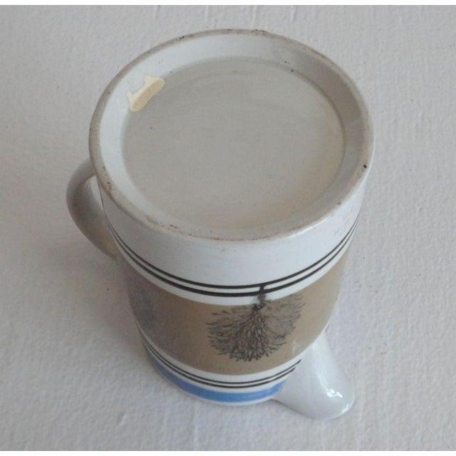 Ceramic 19thc Mocha Seaweed Milk Pitcher For Sale - Image 7 of 7