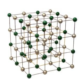Vintage Molecular Model of Salt, Sodium Chloride For Sale