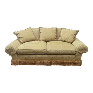 Late 20th Century E.J Victor Upholstered Sofa For Sale