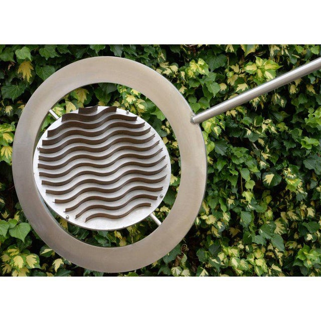 Marc Cavell, Stabile in Metal and Granite, Unique Piece, Circa 1970 For Sale - Image 6 of 10