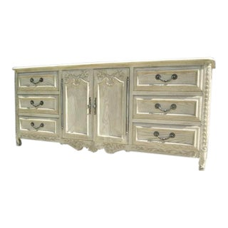 Vintage John Widdicomb French Country Credenza For Sale