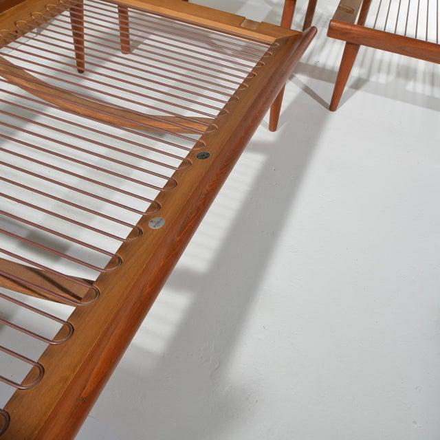 Peter Hvidt and Orla Mølgaard-Nielsen Peter Hvidt & Orla Mølgaard-Nielsen Fd451 Daybed Living Room Set For Sale - Image 4 of 13