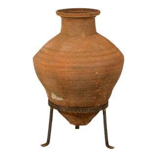 European Mid-19th Century Olive Jar For Sale