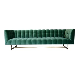 Kirk Square Tufted Sofa For Sale