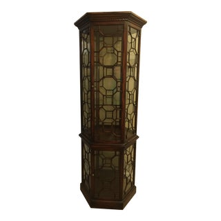 Made in Italy Curio Cabinet For Sale