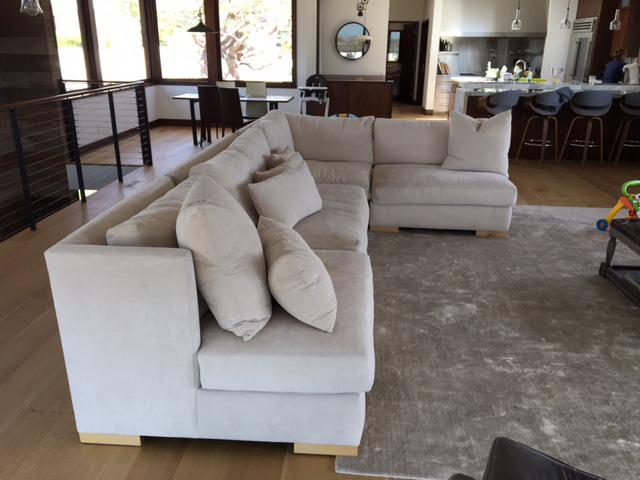 HD Buttercup Contemporary Sectional   Image 4 Of 5