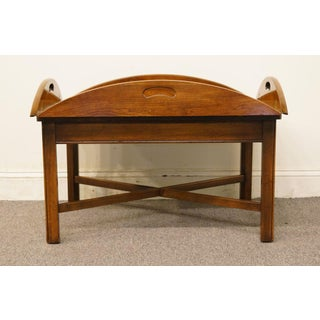 Lane Furniture Solid Cherry Butler's Coffee Table Preview