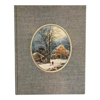 """1970s Vintage """"The Great Book of Currier & Ives"""" Book For Sale"""
