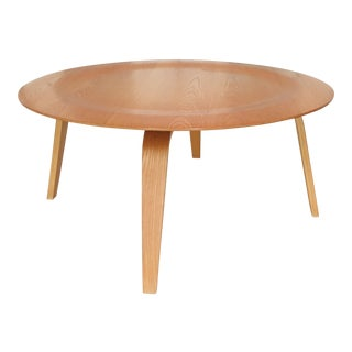 Charles & Ray Eames Molded Oak Ctw Coffee Table for Herman Miller Mid Century Modern For Sale
