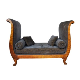 Vintage Victorian Style Sofa For Sale