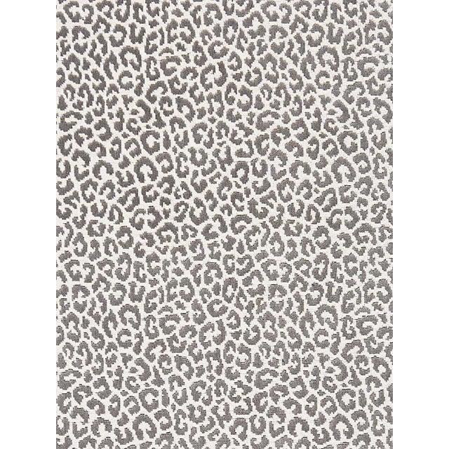 Scalamandre Panthera Velvet, Smoke Fabric For Sale