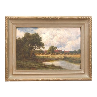 Sonning Berks Framed Painting For Sale