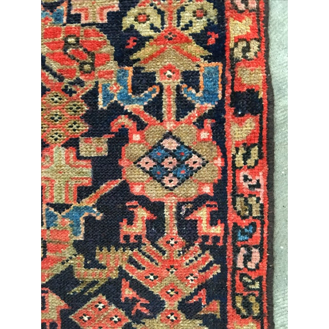 Antique Persian Malayer Runner - 2′5″ × 10′11″ - Image 8 of 8