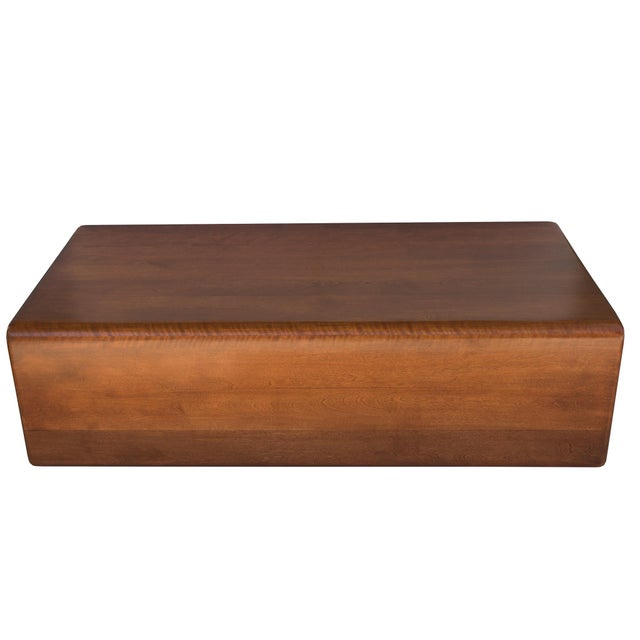 Rare Gerald McCabe Vintage Waterfall Coffee Table - Image 3 of 4