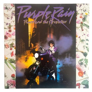 "Vintage ""Prince Purple Rain"" Warner Bros Records Promo Collector's Poster, 1984 For Sale"