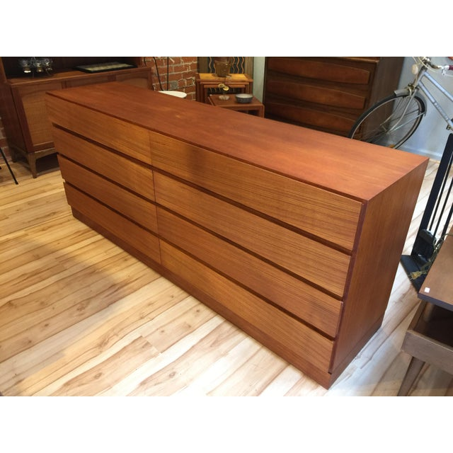 Mid Century Danish Modern Teak Dresser - Image 2 of 7