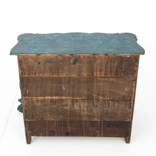 Dutch Blue Bombay Commode For Sale - Image 10 of 11