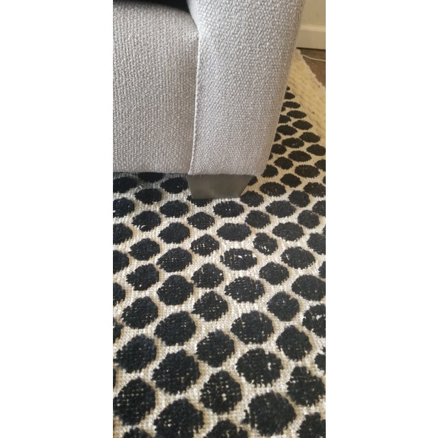2020s Contemporary -DL Rhein Design Belgian Linen Sofa For Sale - Image 5 of 6