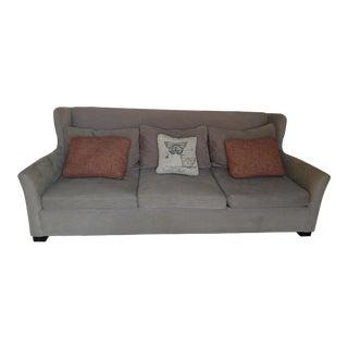 Bernhardt Down Sofa & Decorative Pillows
