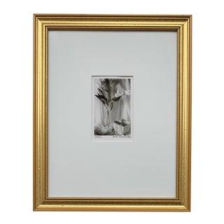 Framed Floral Still Life Photograph For Sale