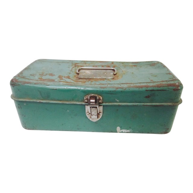 Green Liberty NY Metal Chest - Image 1 of 11