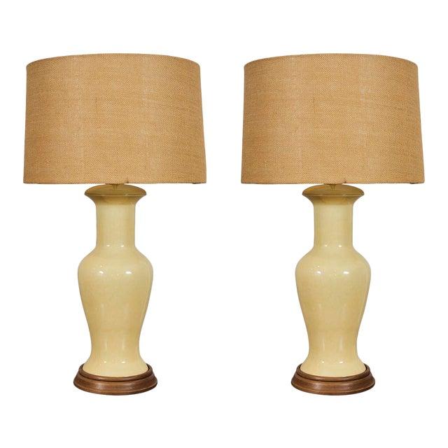 Mid-Century Ceramic Lamps For Sale