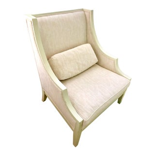 Modern John Richard Painted Occasional Arm Chair For Sale
