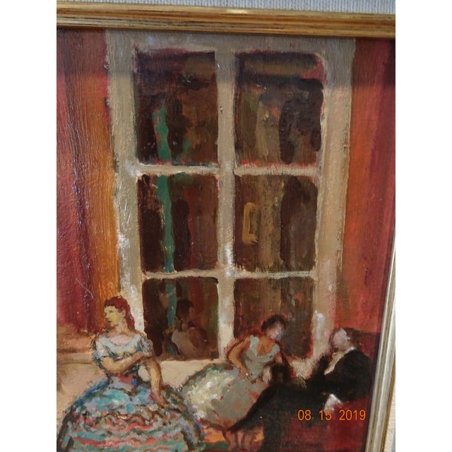 Oil on Board by Marcel Cosson For Sale In New Orleans - Image 6 of 13