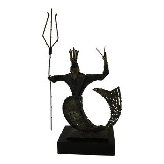 Brutalist Neptune Sculpture by Jack Hanson