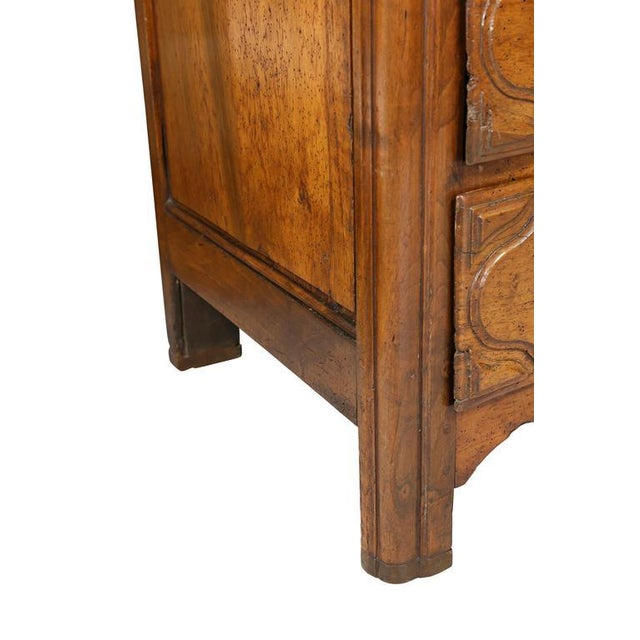 Regence Provincial Walnut Commode For Sale - Image 4 of 9