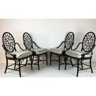 1980s Vintage McGuire Chairs- Set of 4 Preview