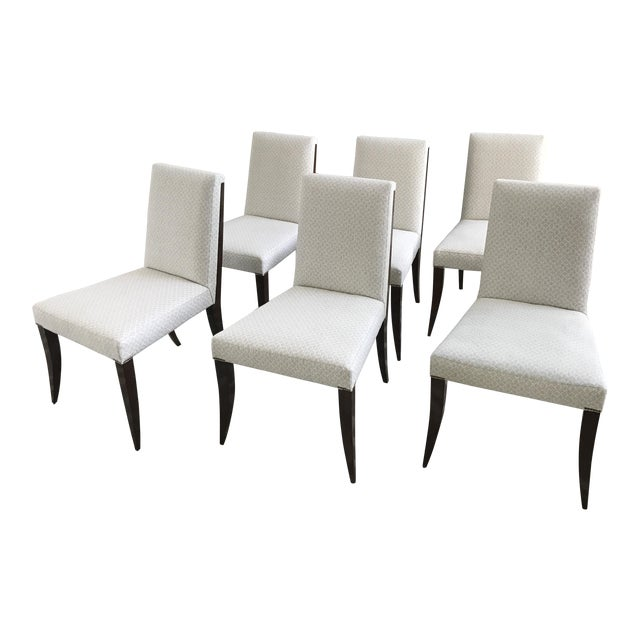 Modern Baker Furniture the Thomas Pheasant Collection Atelier Side Dining  Chairs- Set of 6