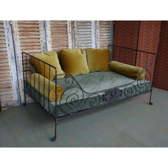 Folding Iron Bed - Image 5 of 9