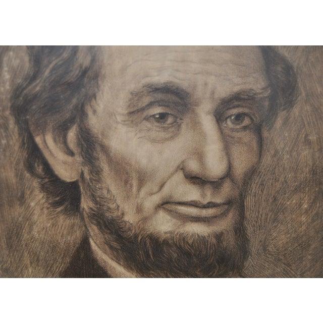 Abraham Lincoln, 19th C. Original Pencil Portrait - Image 5 of 6