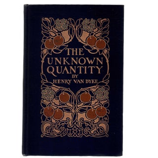 "1912 ""First Edition, the Unknown Quantity"" Collectible Book For Sale"