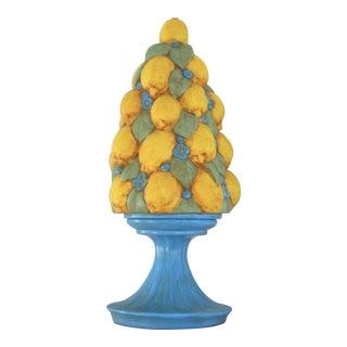 1960s Ceramic Lemon Topiary For Sale