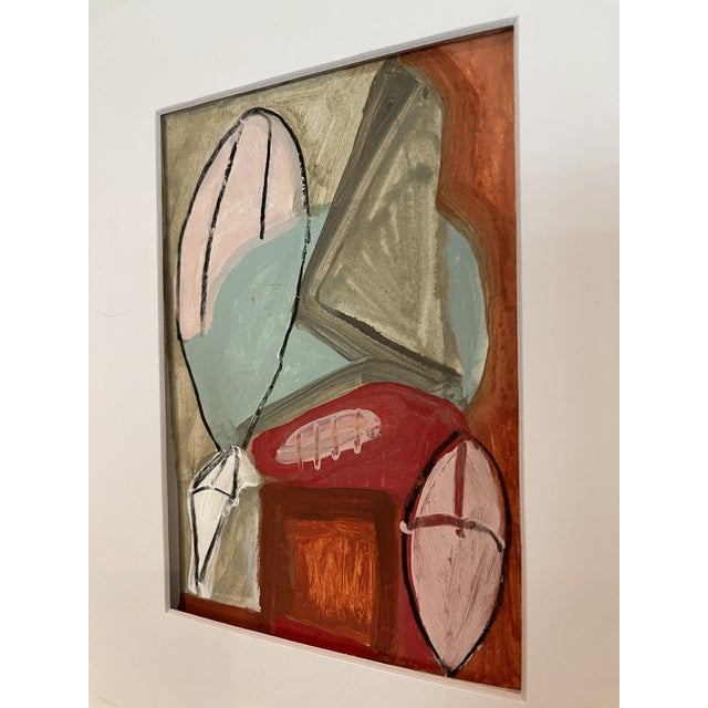 Contemporary Contemporary Abstract Mixed-Media Painting For Sale - Image 3 of 10