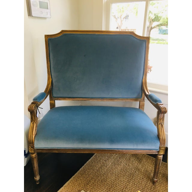 Vintage French Settee For Sale In Houston - Image 6 of 6